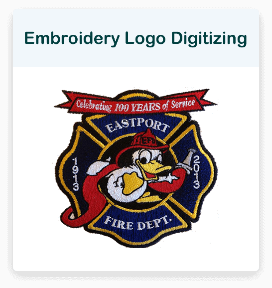 Embroidery Logo Digitizing